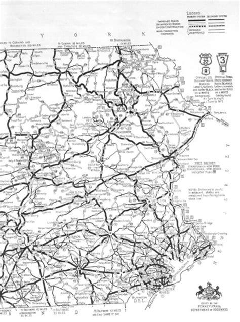 printable pa road map eastern pennsylvania road map pennsylvania mappery