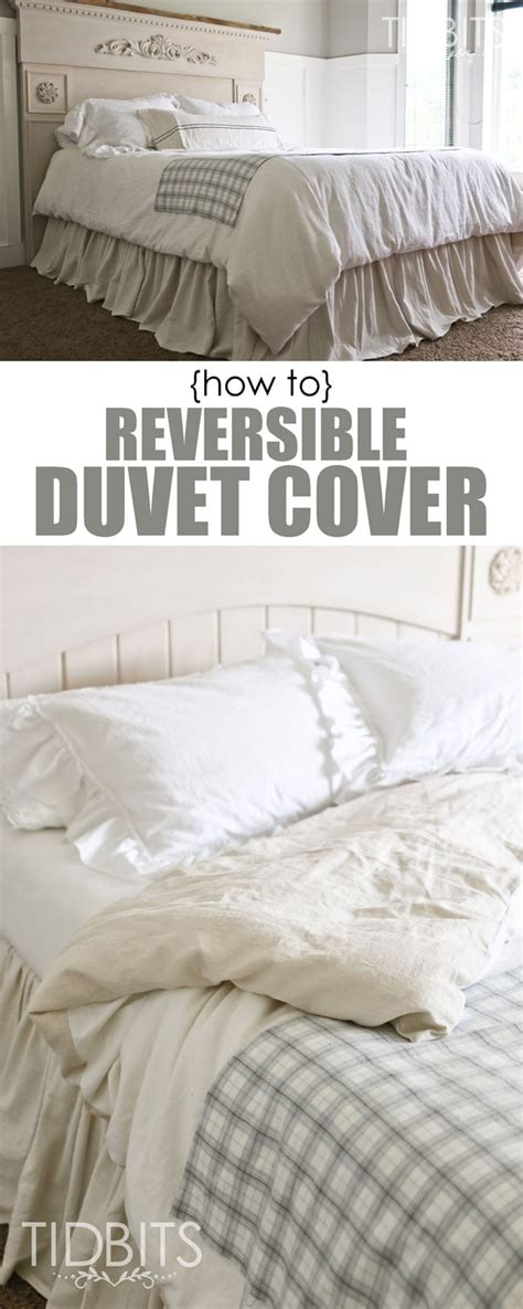 how to make a bed comforter from scratch how to make a reversible duvet cover tidbits