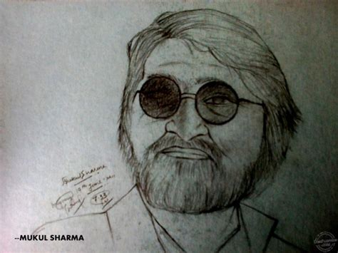 M F Hussain Sketches by Pencil Sketch Of M F Hussain Desipainters