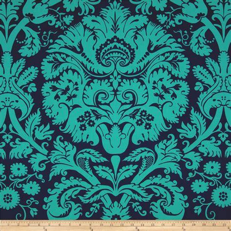 amy butler home decor fabric amy butler belle acanthus teal discount designer fabric