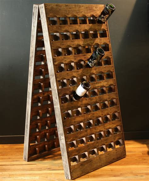 Metal Kitchen Cabinets For Sale by French Riddling Wine Rack 120 Bottles Double Panel By