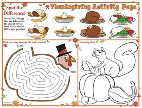 free printable thanksgiving placemats frugal life project free printable thanksgiving placemat