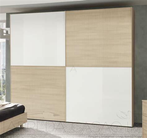 armadio legno bianco armadio ante scorrevoli vetro bianco e legno olmo chiaro