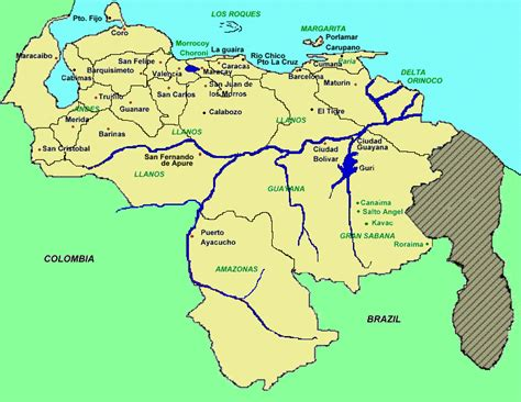 mapa de venezuela new calendar template site