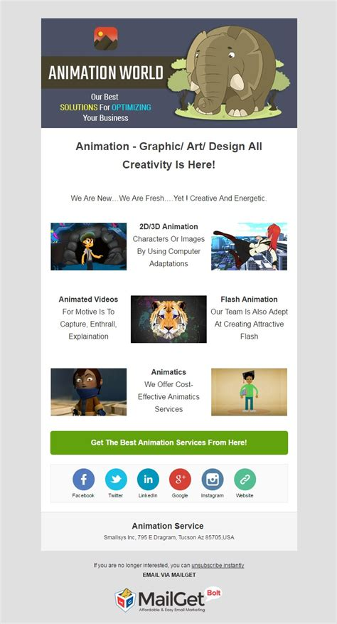 for marketing services template 11 best technology email marketing templates for tech