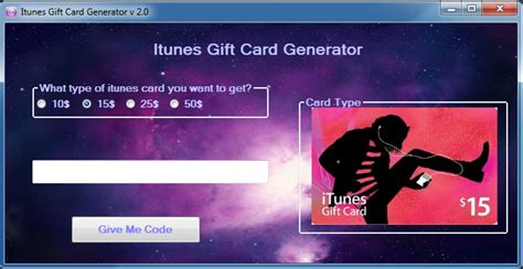 Free Itunes Gift Card Code Generator Download - itunes gift card generator v2 0 hacksbook