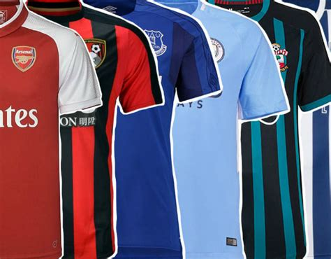 stripe premier league table 2017 premier league jerseys 2017 18 sporteology