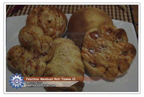 Roti Pontus Rasa Mocca Boy kursus masakan kuliner pelatihan tataboga pelatihan