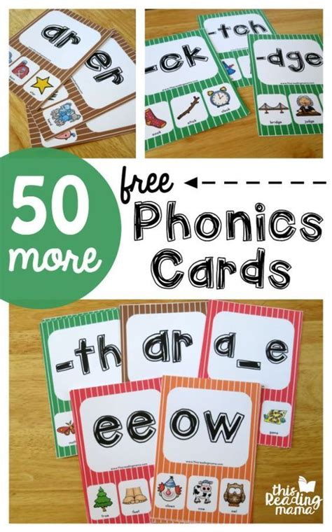 pattern words for first grade phonics cards and tools on pinterest