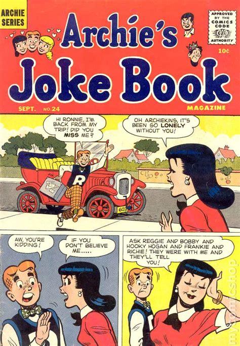 archie s coloring book books archie s joke book 1953 comic books