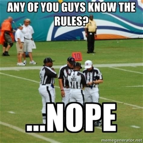 Funny College Football Memes - replacement google and the 10 funniest nfl ref jokes