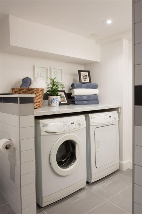 laundry in bathroom ideas as seen on hgtv s it or list it hilary s design for