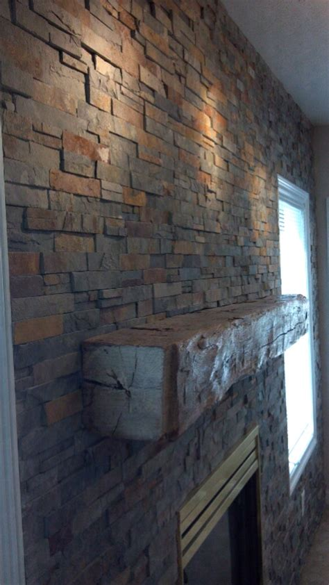 attaching a mantle to soft brick masonry contractor