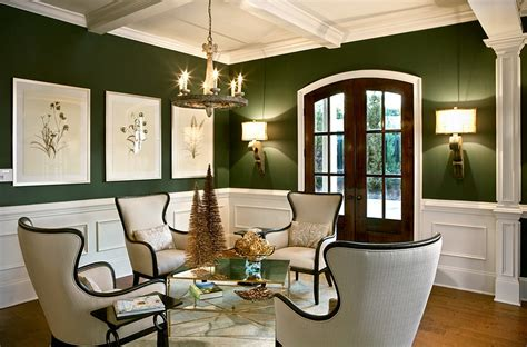 dark green living room 25 green living rooms and ideas to match