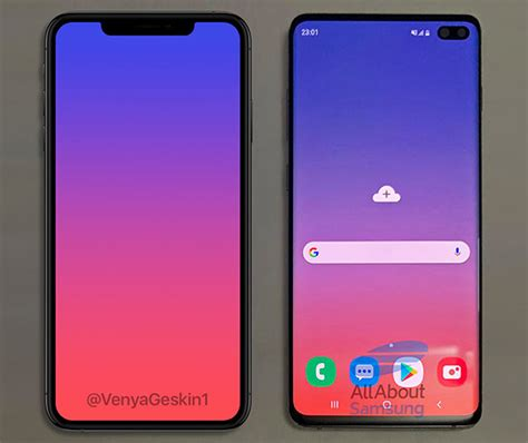 galaxy s10 vs iphone xs max