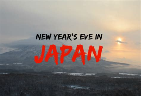 new year s in japan