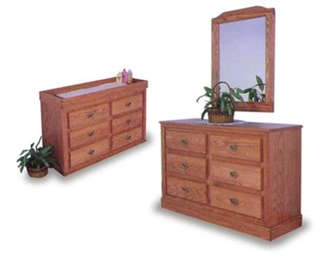 Oak Changing Table Dresser Amish Infant Changing Table And Dresser Amish Bedroom Furniture Sugar Plum Oak Amish