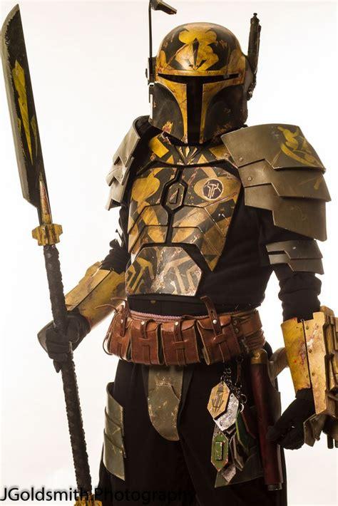 mandalorian armor colors layered plates color pattern trophies vor en kelborn