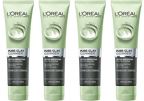 L Oreal Skin Care Clay Cleanser Detox Brighten by L Oreal Skin Care Clay Cleanser Detox