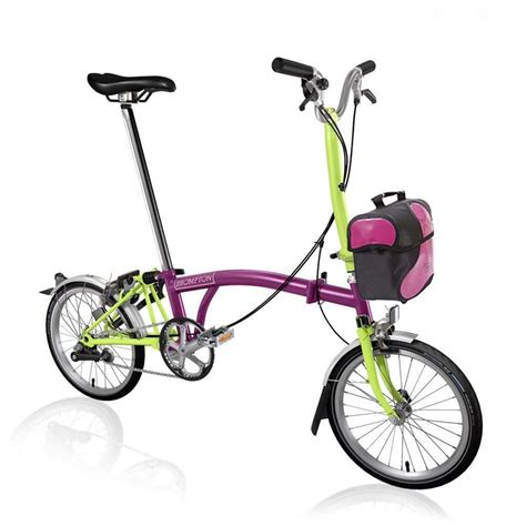 brompton katlanir bisiklet pembe brompton bisiklet fiyatlari