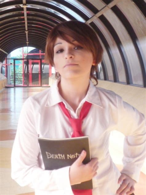 yagami light gender bender cosplay by nao dignity on