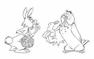 winnie the pooh rabbit coloring pages 7 rabbit winnie the pooh coloring pages