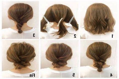 easy hairstles for court best 25 buns for short hair ideas on pinterest styles