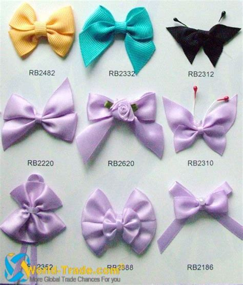 Different Type Of Hair Bows by Different Types Of Bows Ribbon Type Of Ribbon