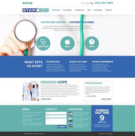 web design centered layout playful modern wordpress design for atomic design by