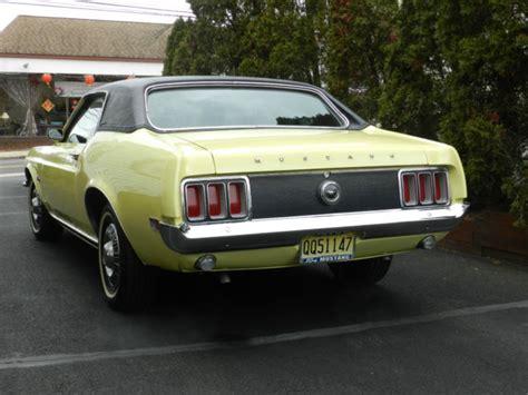 1970 mustang grande 1970 ford mustang grande automatic 302 v8