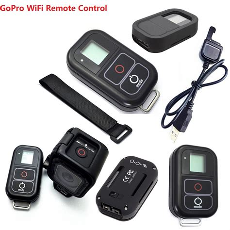 Gopro Remote gopro 4 session accessories gopro wireless wifi remote rc charging cable wrist belt
