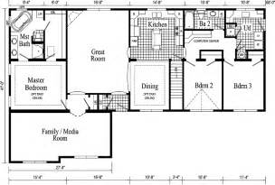 Ranch Style Homes Floor Plans by Gallery For Gt Ranch Houses Floor Plans