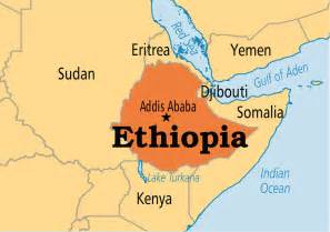 Ethiopia Map In World by May 20 Ethiopia Operation World