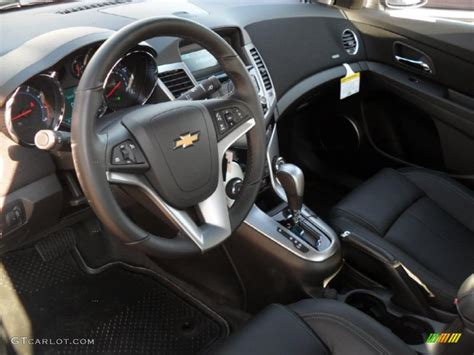 Jet Black Leather Interior 2011 Chevrolet Cruze LTZ Photo #39342204 GTCarLot.com