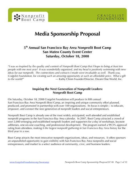 Elegant Sponsorship Package Template Aguakatedigital Templates Aguakatedigital Templates Bid Package Template