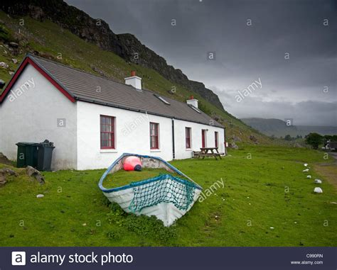 Cottage Isle Of Mull by Bacca Cottage Gribun Overlooking Loch Na Keal Isle Of