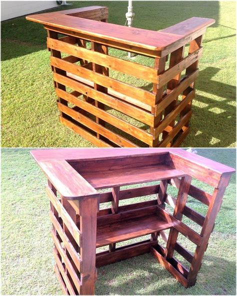 smashing ideas for pallet reusing wood bars pallet wood and pallets