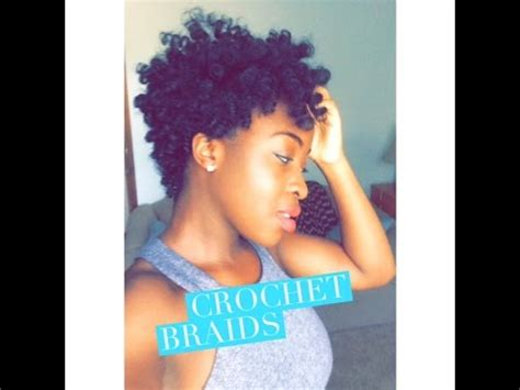 crochet braids on tapered haircut tapered crochet braids using curlkalon hair collection