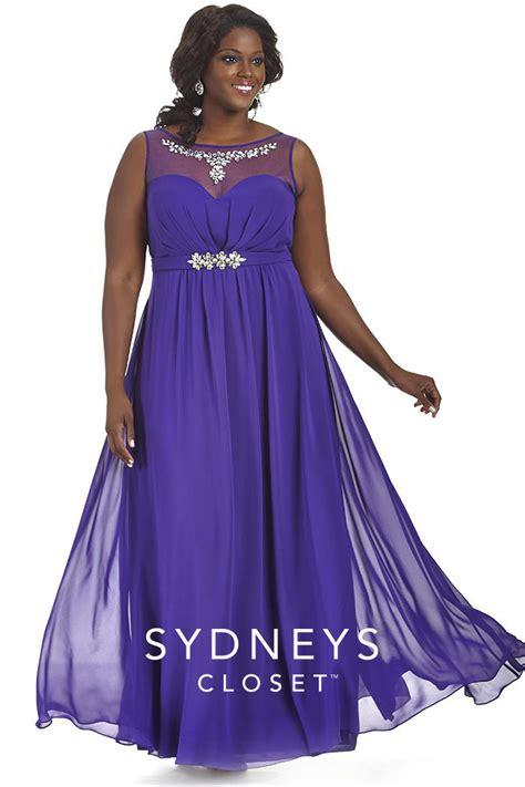 sydneys closet sc7164 plus size illusion prom gown