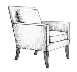 furniture design drawing furniture design on 728 pins rendering