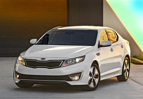 Optima Kia 2013 2013 Kia Optima Hybrid More Space Improved Gas Mileage