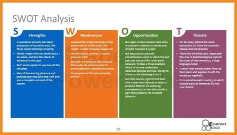 Swot Analysis Template Ppt Art Resume Exles Kukkoblock Templates Swot Matrix Template Powerpoint