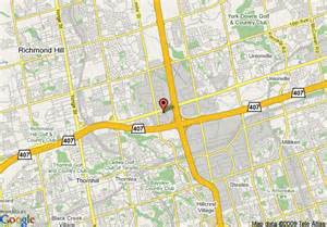markham canada map map of courtyard by marriott toronto markham markham