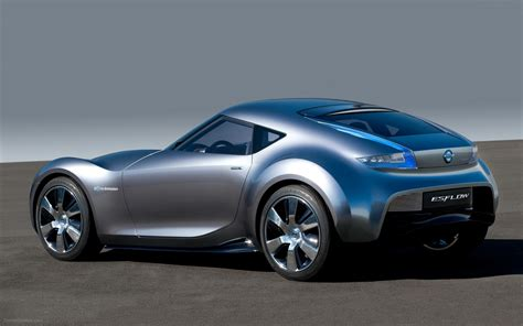 Nissan ESFLOW Electric Concept Car 2011 Widescreen Exotic Car Photo #05 of 54 : Diesel Station