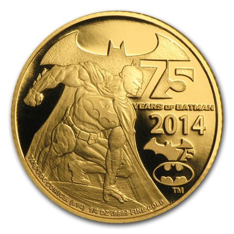 new year traditions gold coins 2014 niue 1 4 oz proof gold 75 years of batman gold