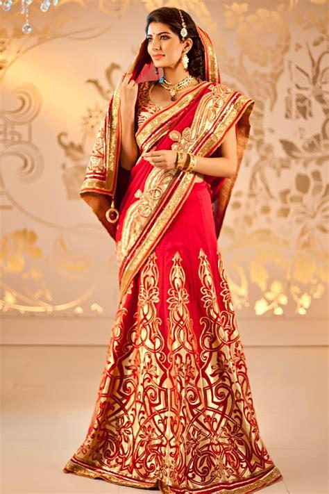 Indian Bridal Wear Saree Collection 2018 Photos ... Indian Designer Bridal Dresses 2017