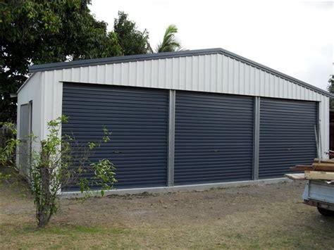 triple garage busselton sheds