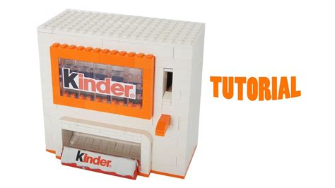 tutorial lego machine lego kinder bar machine tutorial youtube