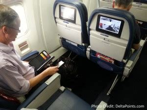 delta airbus a330 300 economy comfort an 18 000 point delta mileage run the run to sweden