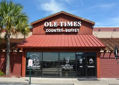 ole times country buffet lake city menu prices